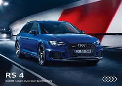 Offers from Audi in the Sydney NSW catalogue