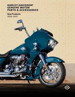 Harley Davidson specials in the Harley Davidson catalogue ( More than one month)