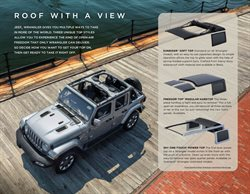 Wrangler specials in the Jeep catalogue ( More than one month)