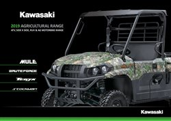 Offers from Kawasaki in the Adelaide SA catalogue