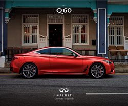 Infiniti specials in the Infiniti catalogue ( More than one month)