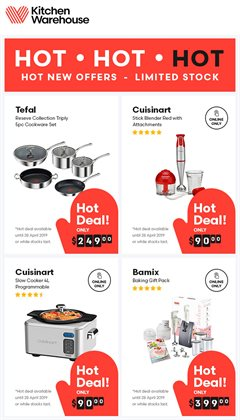 Offers from Kitchen Warehouse in the Perth WA catalogue