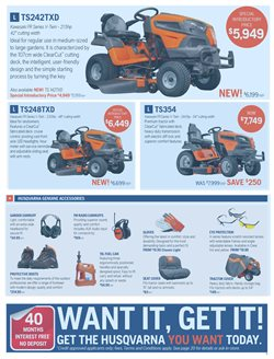 DIY & Garden offers in the Husqvarna catalogue ( 29 days left )