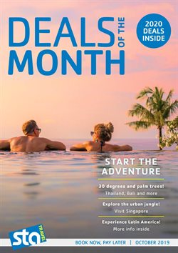 Travel & Leisure offers in the STA Travel catalogue in Sydney NSW