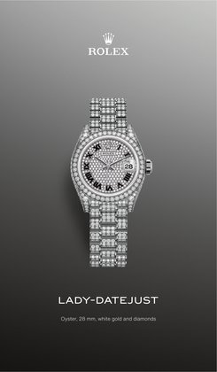 Luxury Brands specials in the Rolex catalogue ( More than one month)