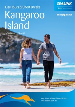 Travel & Leisure offers in the SeaLink Kangaroo Island catalogue in Sydney NSW ( More than one month )