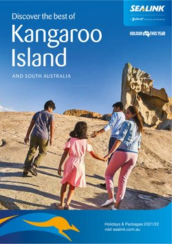 Travel & Leisure specials in the SeaLink Kangaroo Island catalogue ( More than one month)