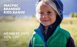 Offers from Macpac in the Melbourne VIC catalogue