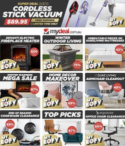 My Deal specials in the My Deal catalogue ( 15 days left)