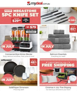 Electronics & Appliances specials in the My Deal catalogue ( 3 days left)
