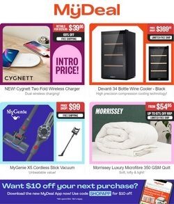My Deal specials in the My Deal catalogue ( 6 days left)