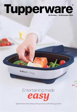 Offers from Tupperware in the Adelaide SA catalogue