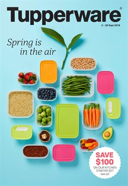 Offers from Tupperware in the Melbourne VIC catalogue