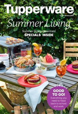 Back To School specials in the Tupperware catalogue ( 4 days left)