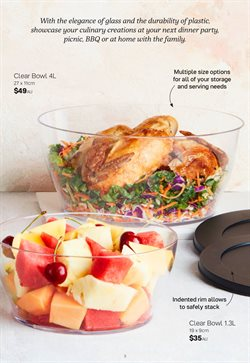 Homeware & Furniture offers in the Tupperware catalogue ( 5 days left )