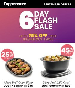 Tupperware specials in the Tupperware catalogue ( Expired)