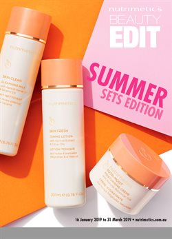 Offers from Nutrimetics in the Sydney NSW catalogue