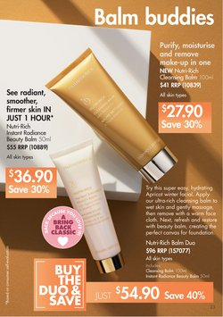 Thule specials in the Nutrimetics catalogue ( More than one month)
