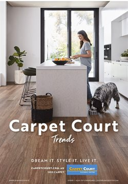 Offers from Carpet Court in the Bunbury WA catalogue