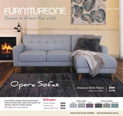 Offers from Furniture One in the Sydney NSW catalogue