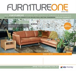 Furniture One catalogue ( Expired )