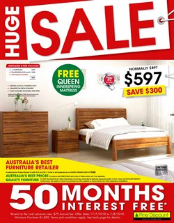 Offers from Pine Discount in the Mandurah WA catalogue