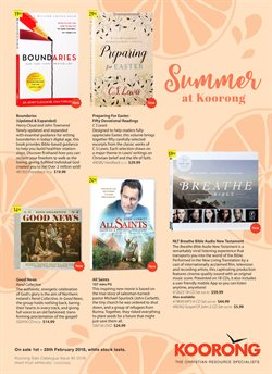 Books & Leisure offers in the Koorong catalogue in Adelaide SA
