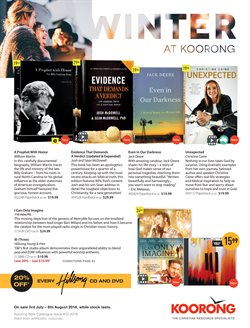 Books & Leisure offers in the Koorong catalogue in Sydney NSW