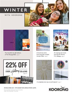 Offers from Koorong in the Sydney NSW catalogue