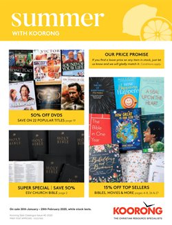Books & Hobby offers in the Koorong catalogue in Perth WA ( Expires tomorrow )