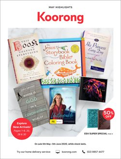 Books & Hobby offers in the Koorong catalogue in Melbourne VIC ( 10 days left )