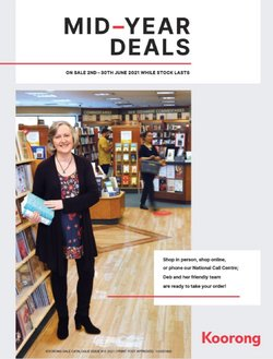 Books & Hobby specials in the Koorong catalogue ( 11 days left)
