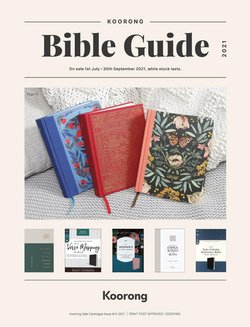 Books & Hobby specials in the Koorong catalogue ( More than one month)