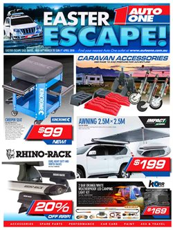 Offers from Auto One in the Brisbane QLD catalogue