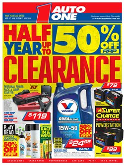 Cars, motorcycles & spares offers in the Auto One catalogue in Sydney NSW