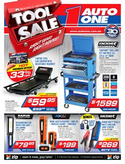 Offers from Auto One in the Sydney NSW catalogue