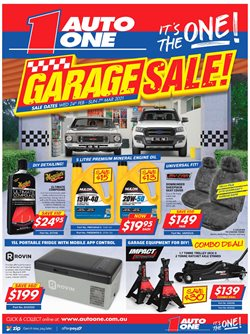 Cars, Motorcycles & Spares offers in the Auto One catalogue in Sydney NSW ( 2 days left )