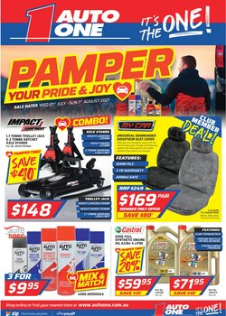 Cars, Motorcycles & Spares specials in the Auto One catalogue ( 7 days left)