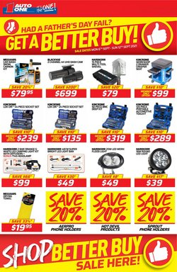 Auto One specials in the Auto One catalogue ( Expired)