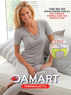 Offers from Damart in the Sydney NSW catalogue