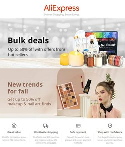 Aliexpress specials in the Aliexpress catalogue ( 1 day ago)