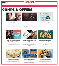 Easter specials in the Dendy Cinemas catalogue ( 13 days left)