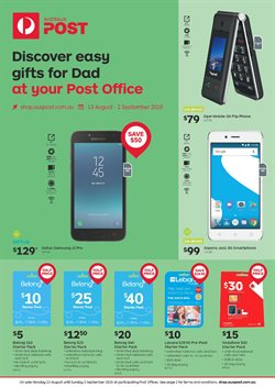Offers from Australia Post in the Melbourne VIC catalogue