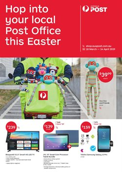 Offers from Australia Post in the Adelaide SA catalogue