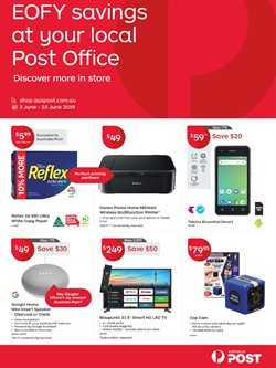 Offers from Australia Post in the Sydney NSW catalogue