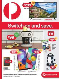 Australia Post catalogue ( 9 days left )
