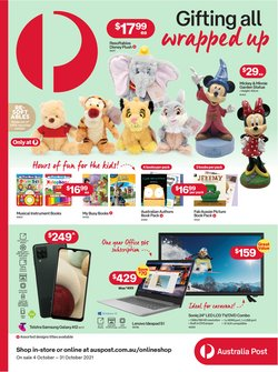 Electronics & Appliances specials in the Australia Post catalogue ( 6 days left)