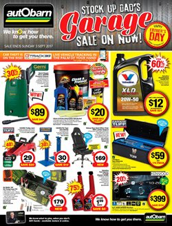Cars, motorcycles & spares offers in the Autobarn catalogue in Rockingham WA