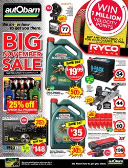 Offers from Autobarn in the Perth WA catalogue
