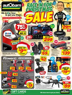 Cars, motorcycles & spares offers in the Autobarn catalogue in Tannum Sands QLD